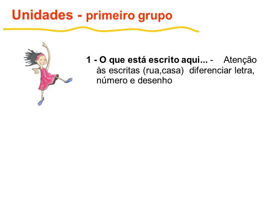 2- Você é único - vogais Unidades - primeiro grupo