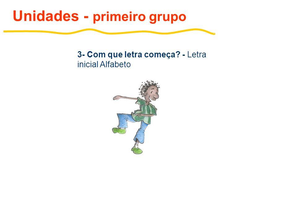 4- Bicharada atrapalhada - Sílabas simples (P,T,D,B,F,V) Unidades - primeiro grupo