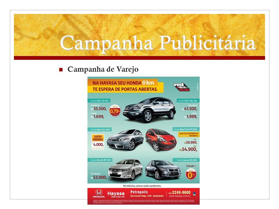 Campanha Publicitária Campanha de Varejo