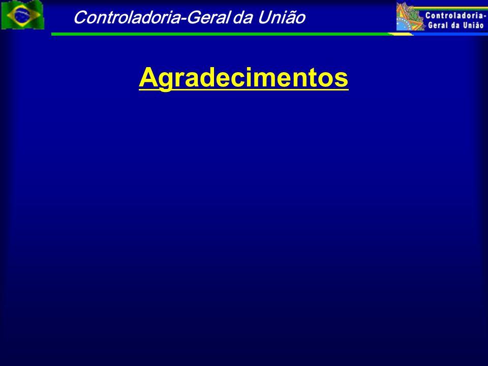 Controladoria-Geral da União Agradecimentos