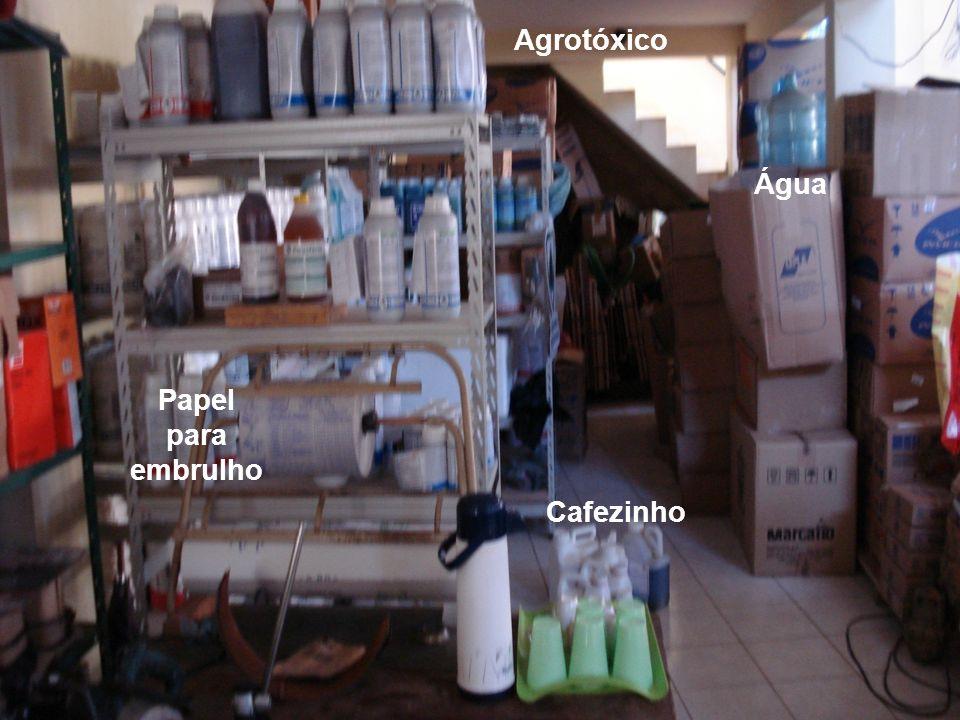 Cafezinho Água Agrotóxico Papel para embrulho