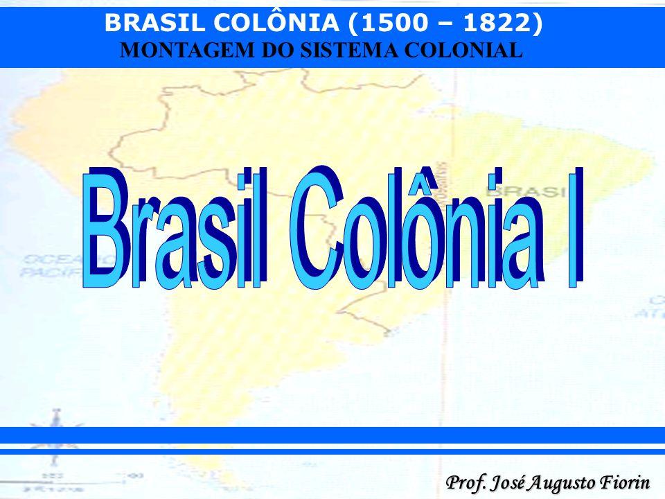BRASIL COLÔNIA (1500 – 1822) Prof. José Augusto Fiorin MONTAGEM DO SISTEMA COLONIAL