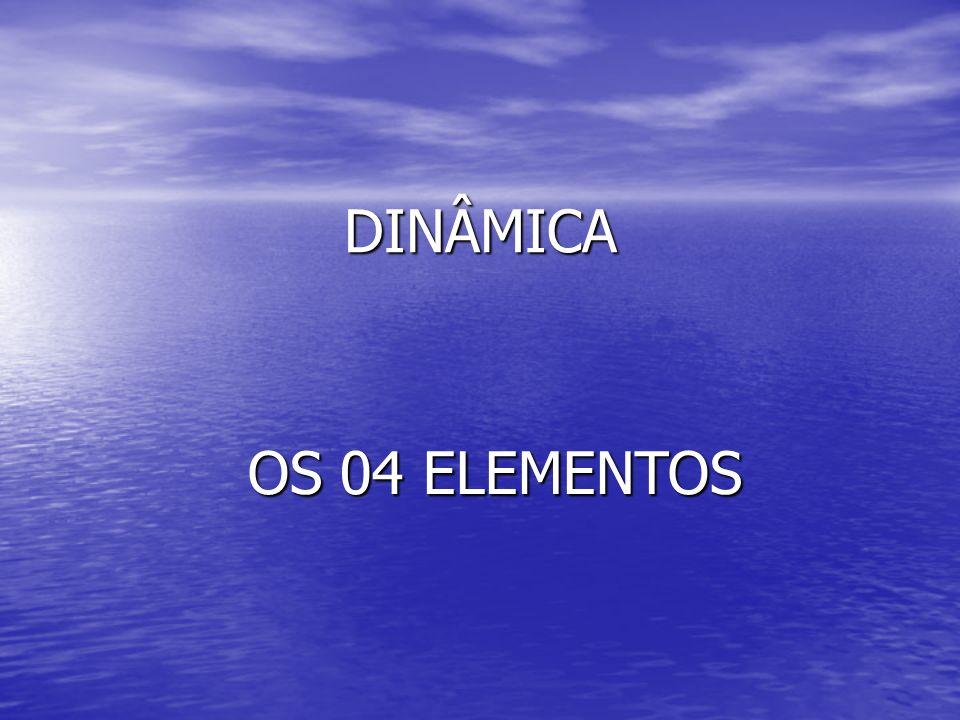 DINÂMICA OS 04 ELEMENTOS