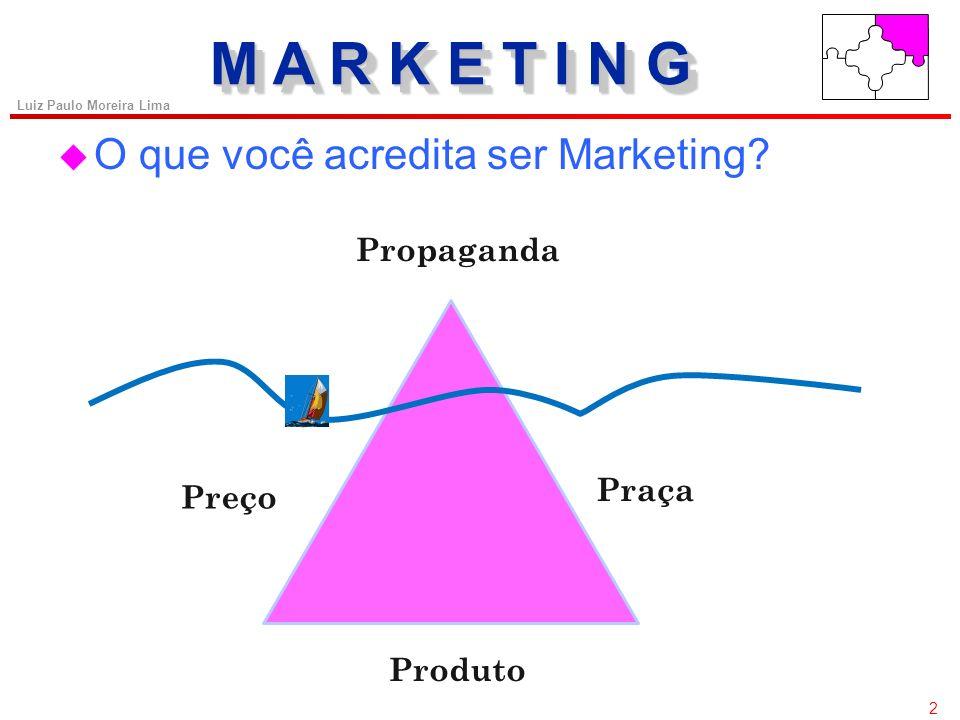 2 Luiz Paulo Moreira Lima u O que você acredita ser Marketing.