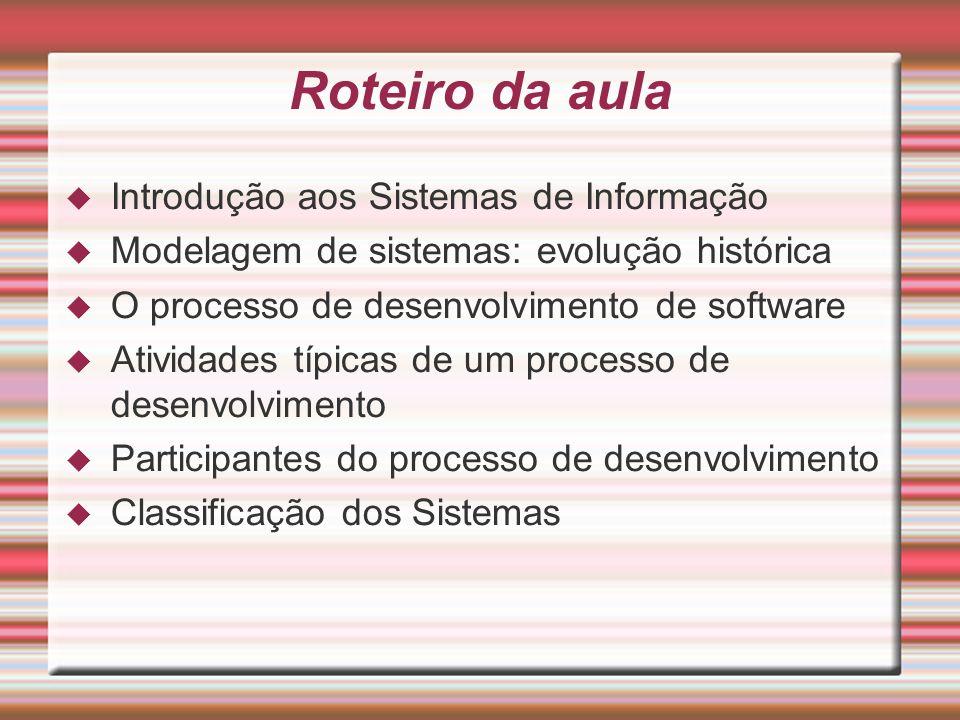 Modelagem de Software A modelagem de sistemas de software consiste na utilização de notações gráficas e textuais com o objetivo de construir modelos que representam as partes essenciais de um sistema.