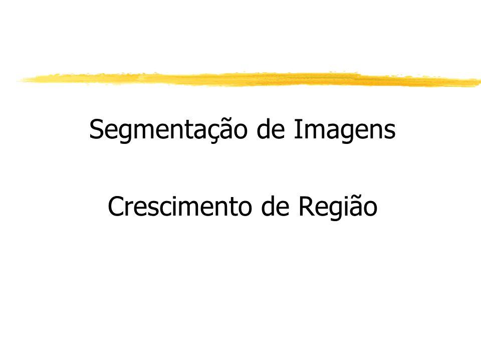 Segmentação de Imagens Crescimento de Região