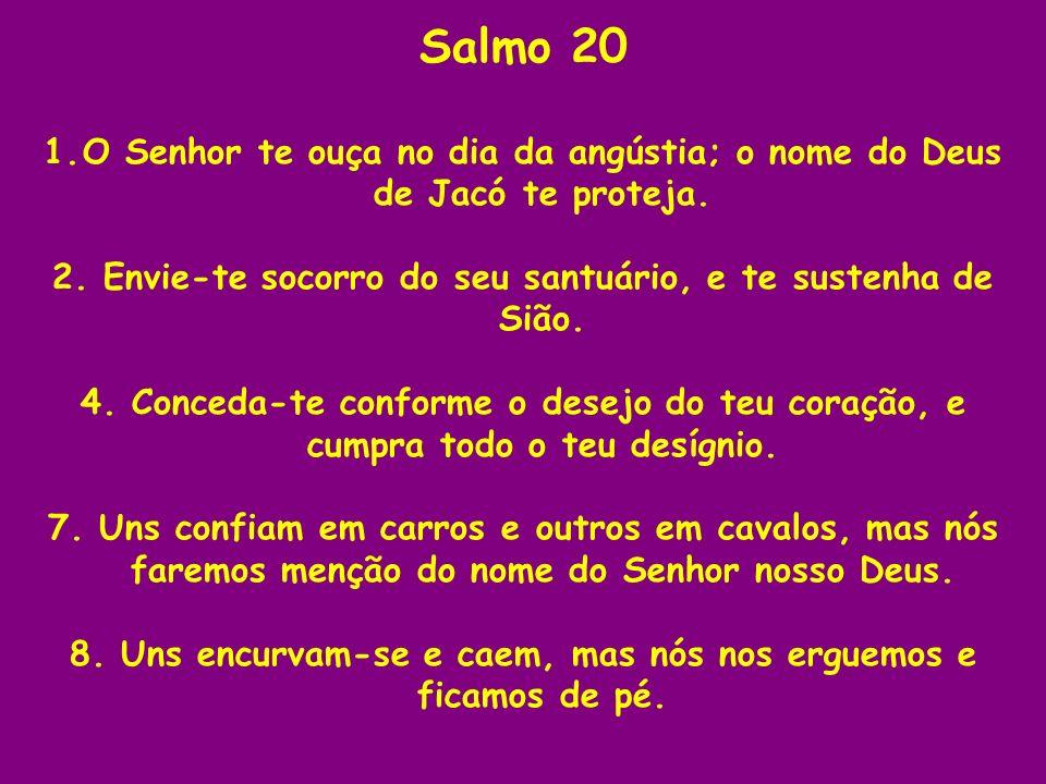Salmo 23 O salmo é de Davi.