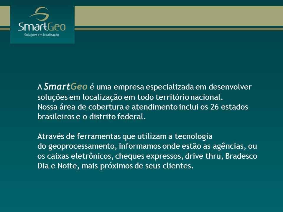 A SmartGeo é uma empresa especializada em desenvolver soluções em localização em todo território nacional. Nossa área de cobertura e atendimento inclu