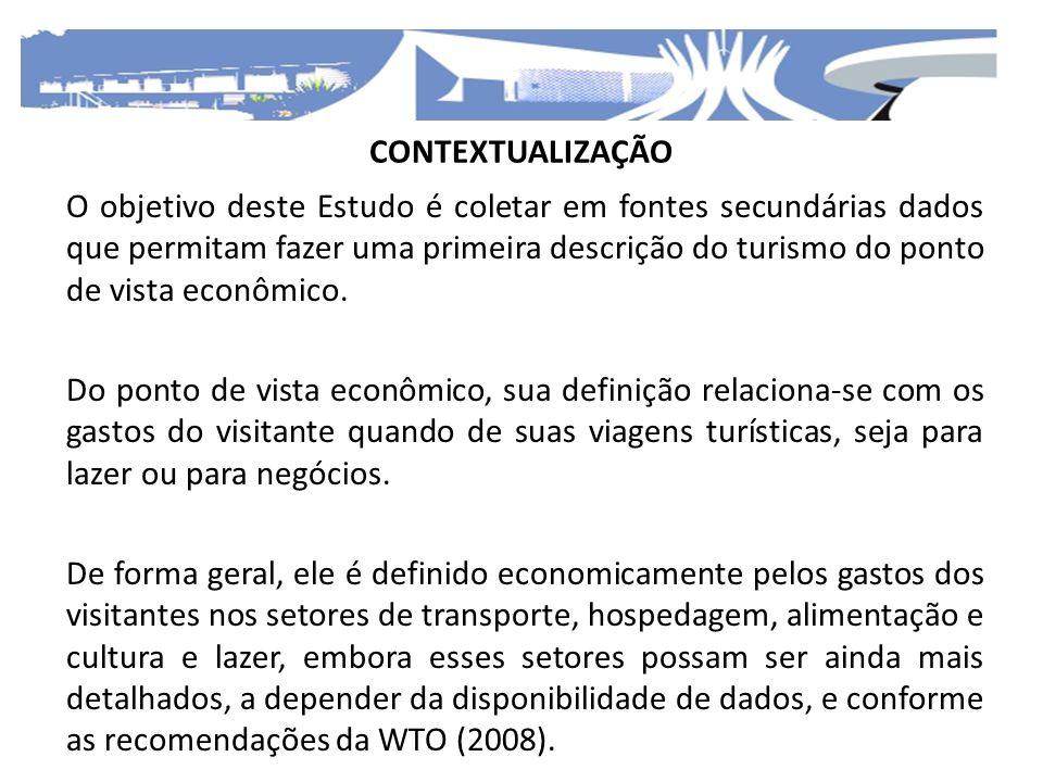 O Estudo está dividido em seis seções: A primeira trata do setor de transporte, dividido em transporte aéreo e transporte terrestre.