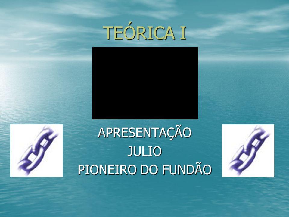 TEÓRICA I APRESENTAÇÃOJULIO PIONEIRO DO FUNDÃO
