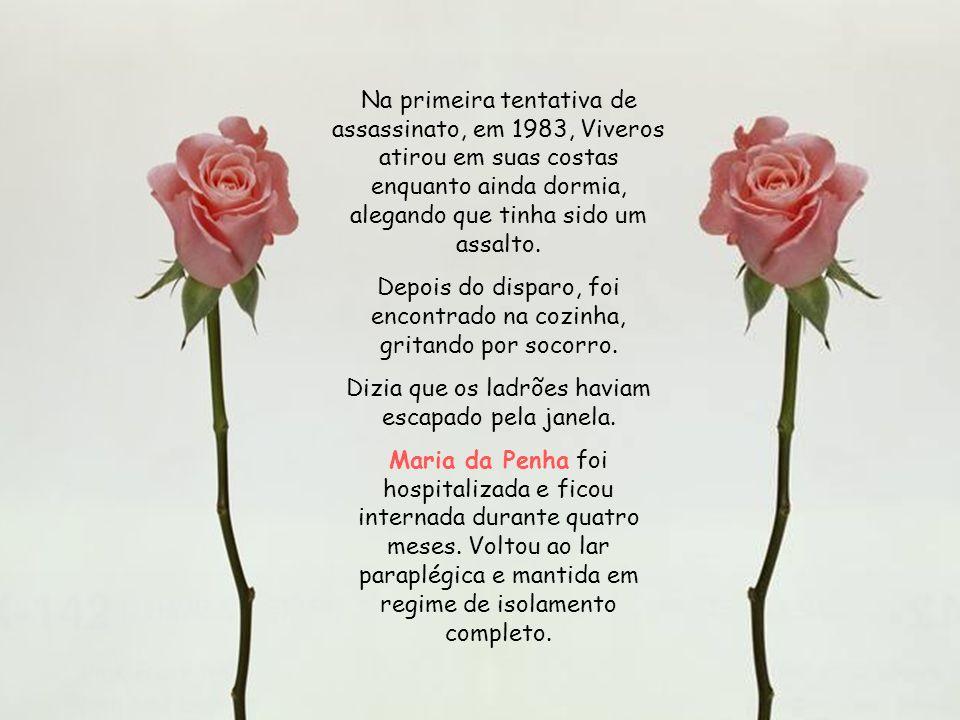 Maria da Penha Maia Fernandes, biofarmacêutica cearense, hoje com 61 anos, fez da sua tragédia pessoal uma bandeira de luta pelos direitos da mulher e
