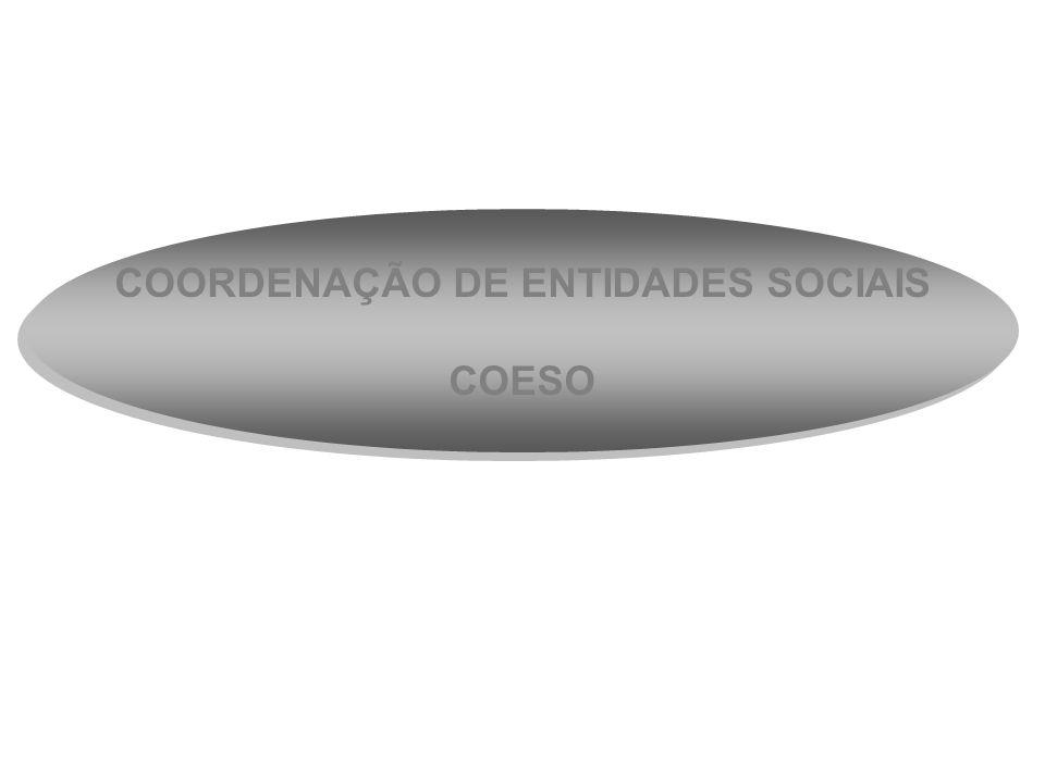 COORDENAÇÃO DE ENTIDADES SOCIAIS COESO COORDENAÇÃO DE ENTIDADES SOCIAIS COESO