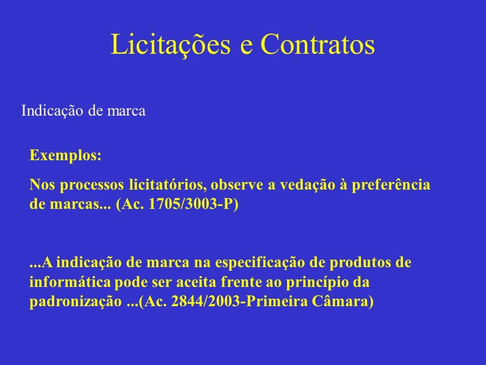 Licitações e Contratos Licitação por item Divisão da licitação em muitas outras partes.