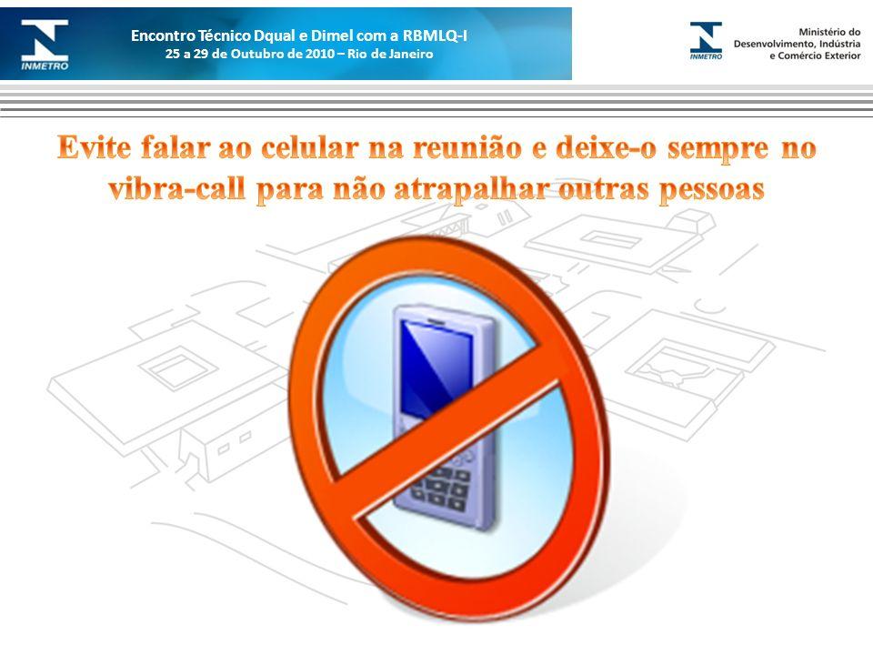 Marca do evento Encontro Técnico Dqual e Dimel com a RBMLQ-I 25 a 29 de Outubro de 2010 – Rio de Janeiro