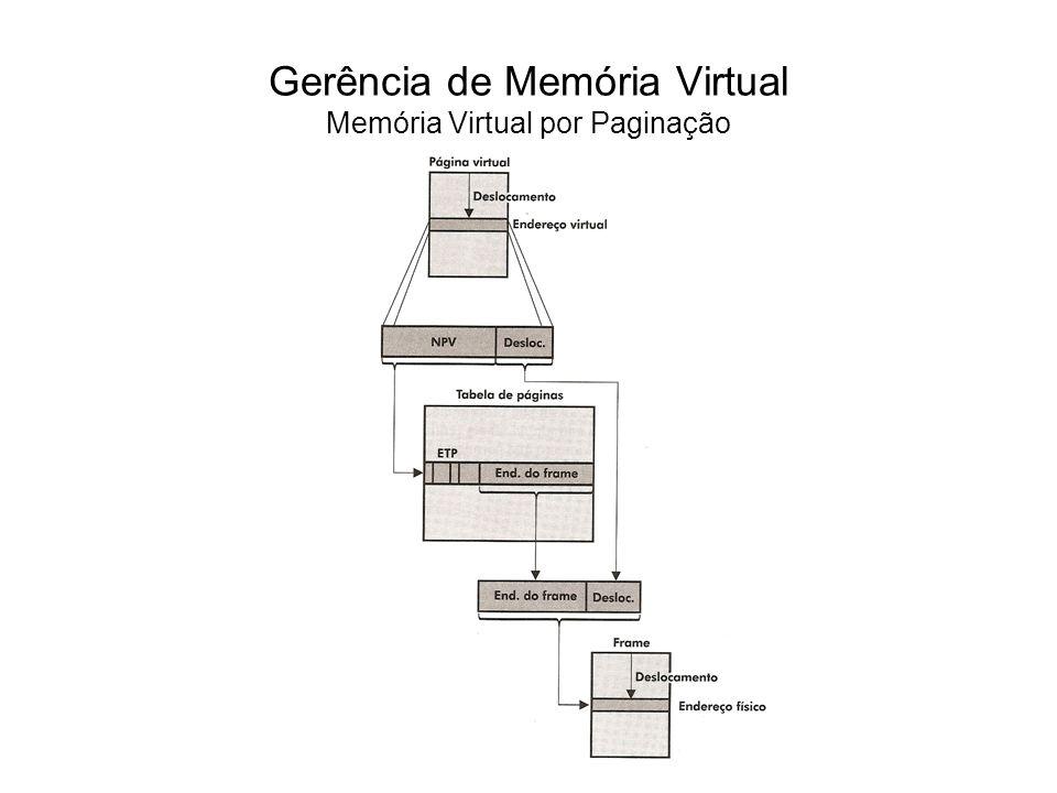 Além da informação sobre a localização da página virtual, a ETP possui outras informações, como o bit de validade (valid bit), que indica se uma página está ou não na memória principal.
