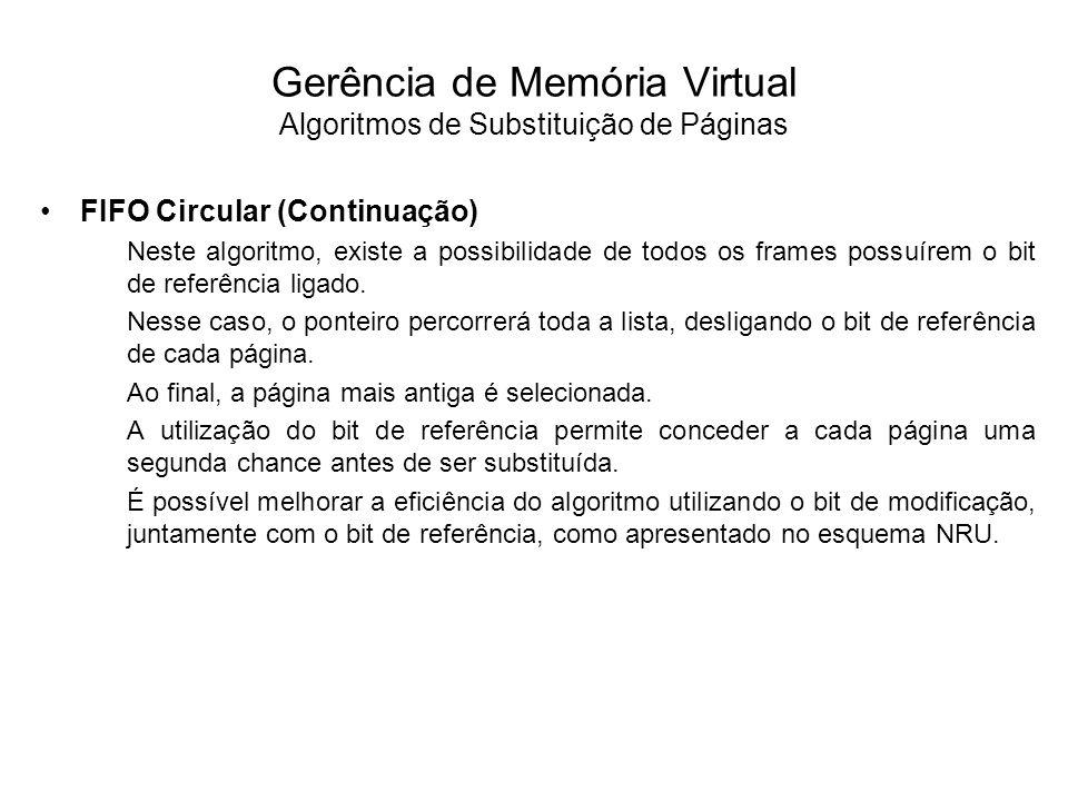 A definição do tamanho de página é um fator importante no projeto de sistemas que implementam memória virtual por paginação.