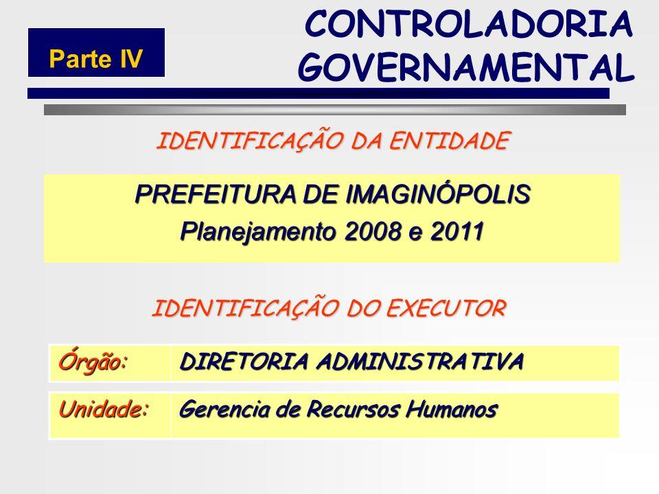144 MODELO DE PLANO CONTROLADORIA GOVERNAMENTAL Parte IV