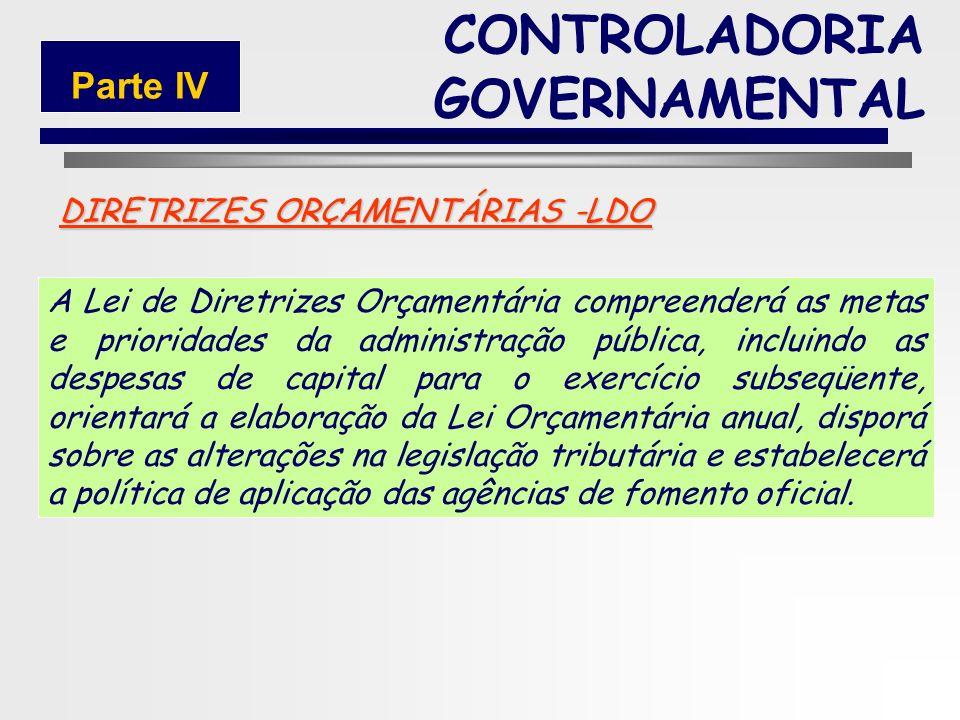 165 DIRETRIZES ORÇAMENTÁRIAS -LDO A LDO é um instrumento de planejamento que tem a finalidade de orientar a elaboração dos orçamentos anuais, de forma