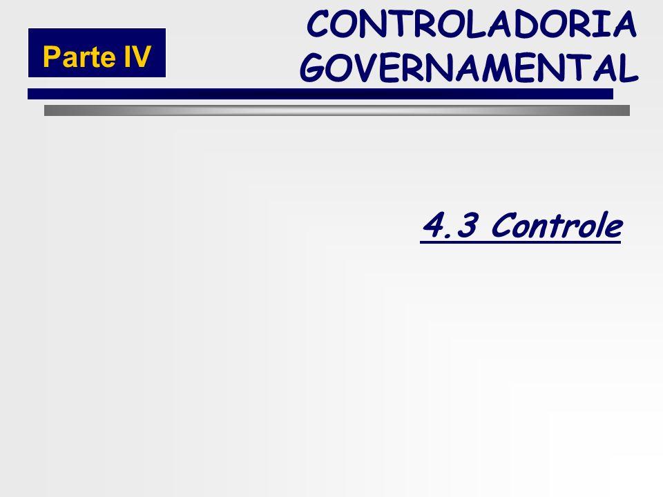 225 Fase da Execução da Receita Extra-Orçamentária CONTROLADORIA GOVERNAMENTAL Parte IV