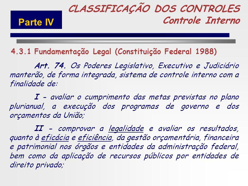 229 Constitui Controles Internos o conjunto de atividades, planos, métodos e procedimentos interligados utilizado com vistas a assegurar que os objeti