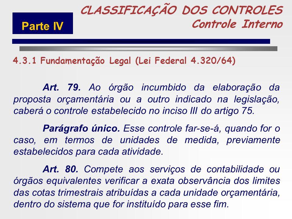 241 5 Art. 76. O Poder Executivo exercerá os três tipos de controle a que se refere o artigo 75, sem prejuízo das atribuições do Tribunal de Contas ou