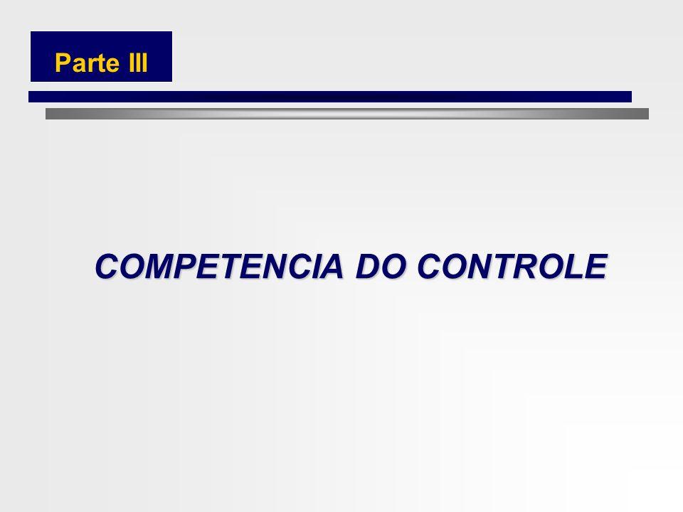 75 CARACTERIZAÇÃO DO PONTO DE CONTROLE 2.4Lei de Responsabilidade Fiscal 2 Equilíbrio entre receitas e despesas Controle de custos e à avaliação dos r
