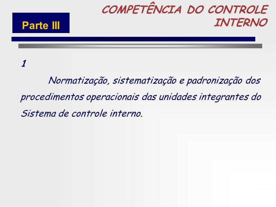 76 COMPETENCIA DO CONTROLE Parte III