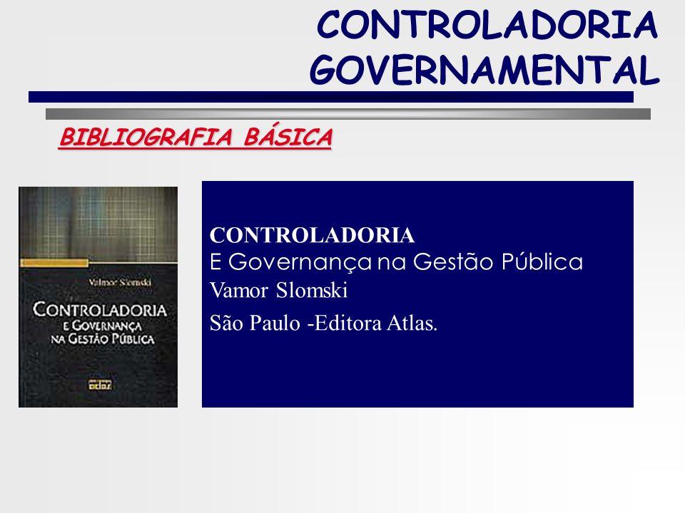 7 CONTROLADORIA GOVERNAMENTAL Material Bibliográfico