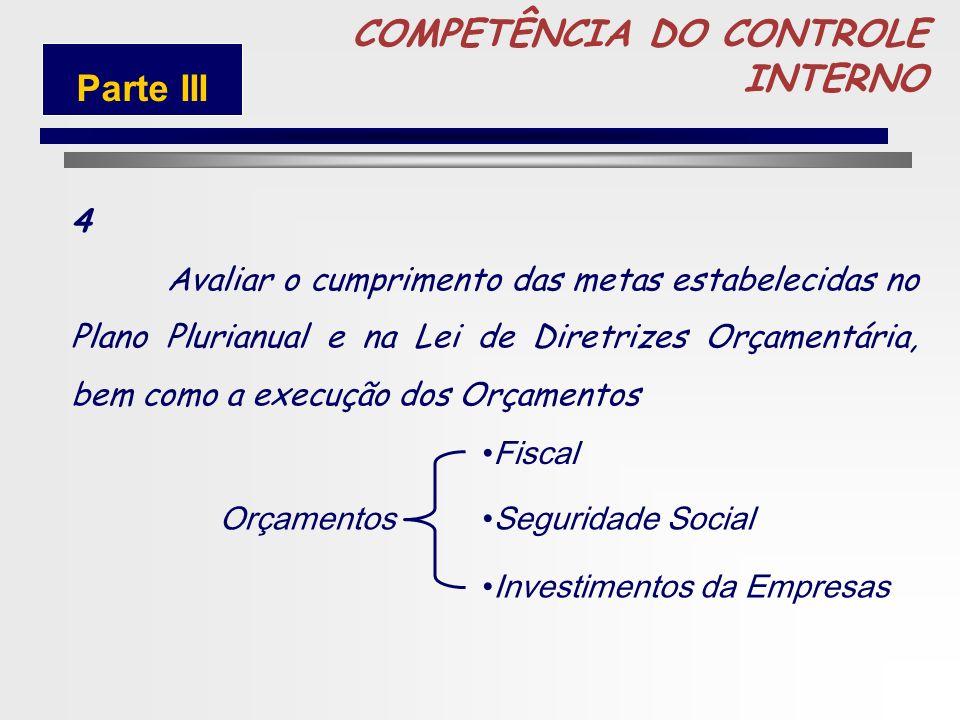 79 COMPETÊNCIA DO CONTROLE INTERNO 3 verificar e avaliar a adoção de medidas que digam respeito à observância dos limites da despesa com pessoal e do