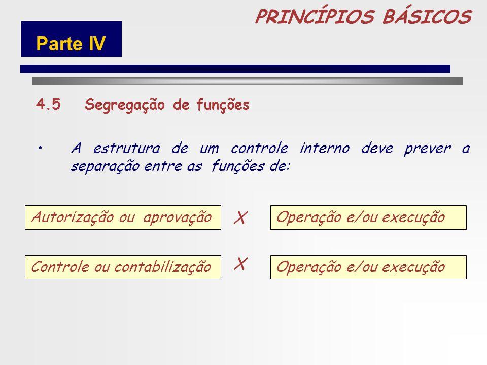 90 PRINCÍPIOS BÁSICOS 4.4 Delegação de poderes e determinação de responsabilidades A delegação de competência deve ser utilizada como um instrumento d