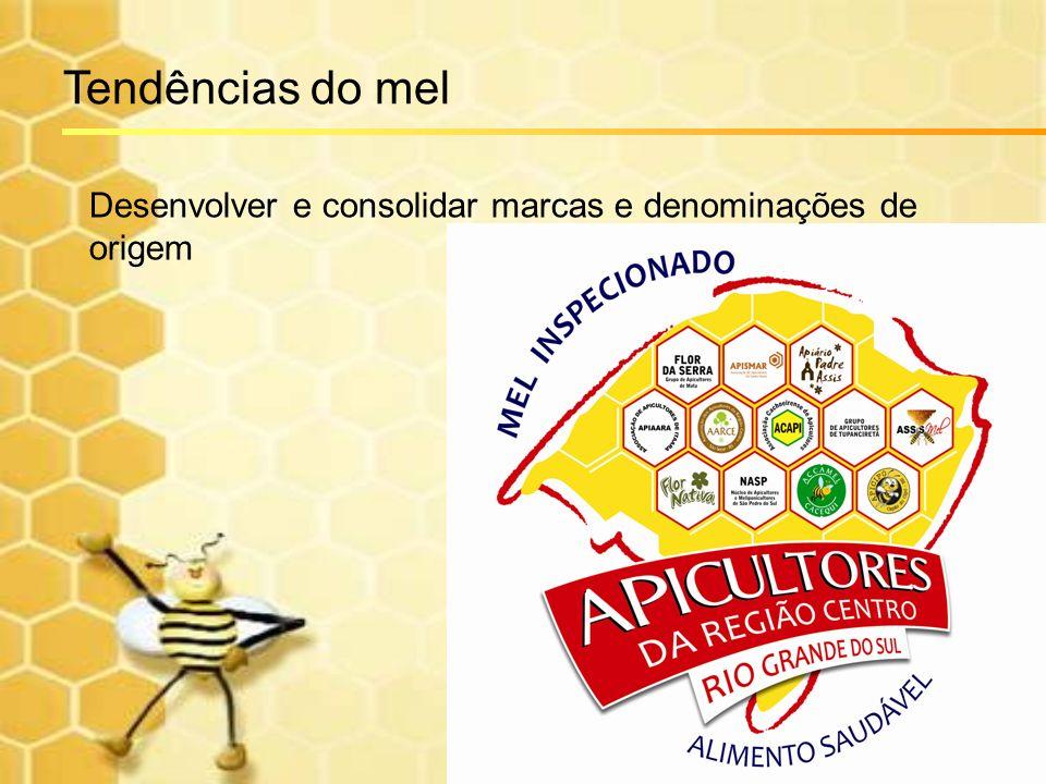 Desenvolver e consolidar marcas e denominações de origem Tendências do mel