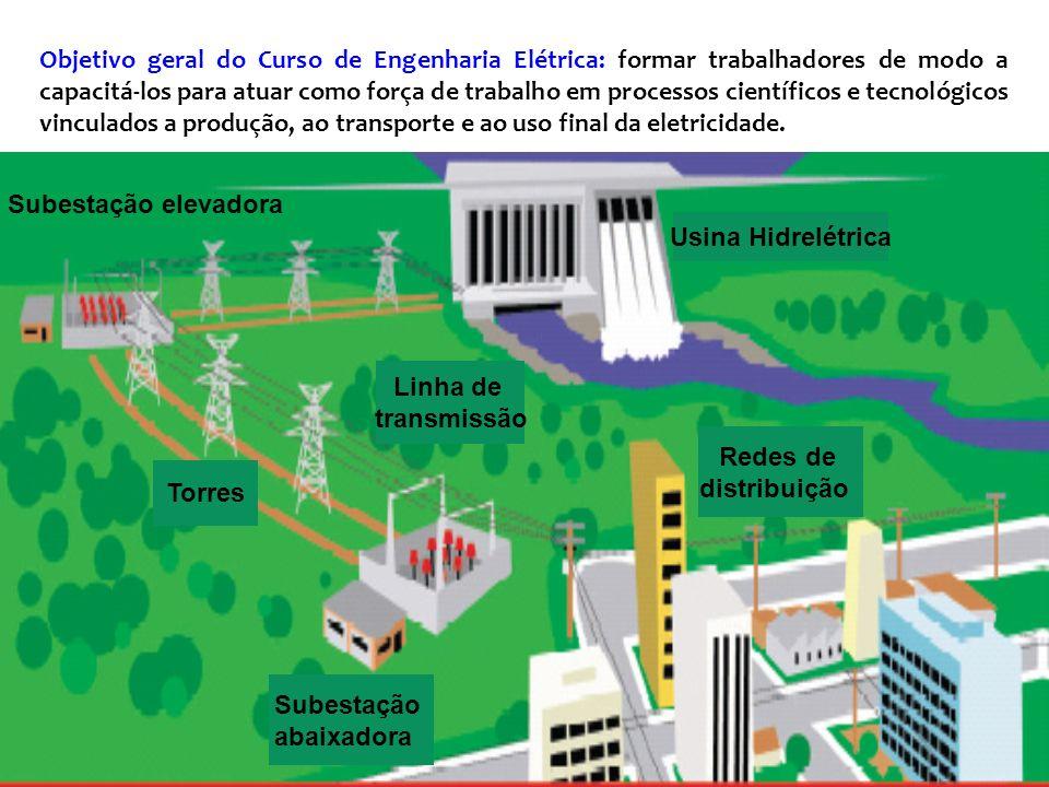 Objetivo geral do Curso de Engenharia Elétrica: formar trabalhadores de modo a capacitá-los para atuar como força de trabalho em processos científicos