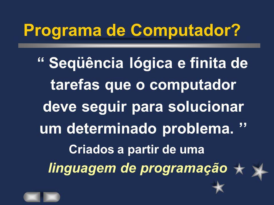 Linguagem de Programação I Prof. Marcio Gonçalves