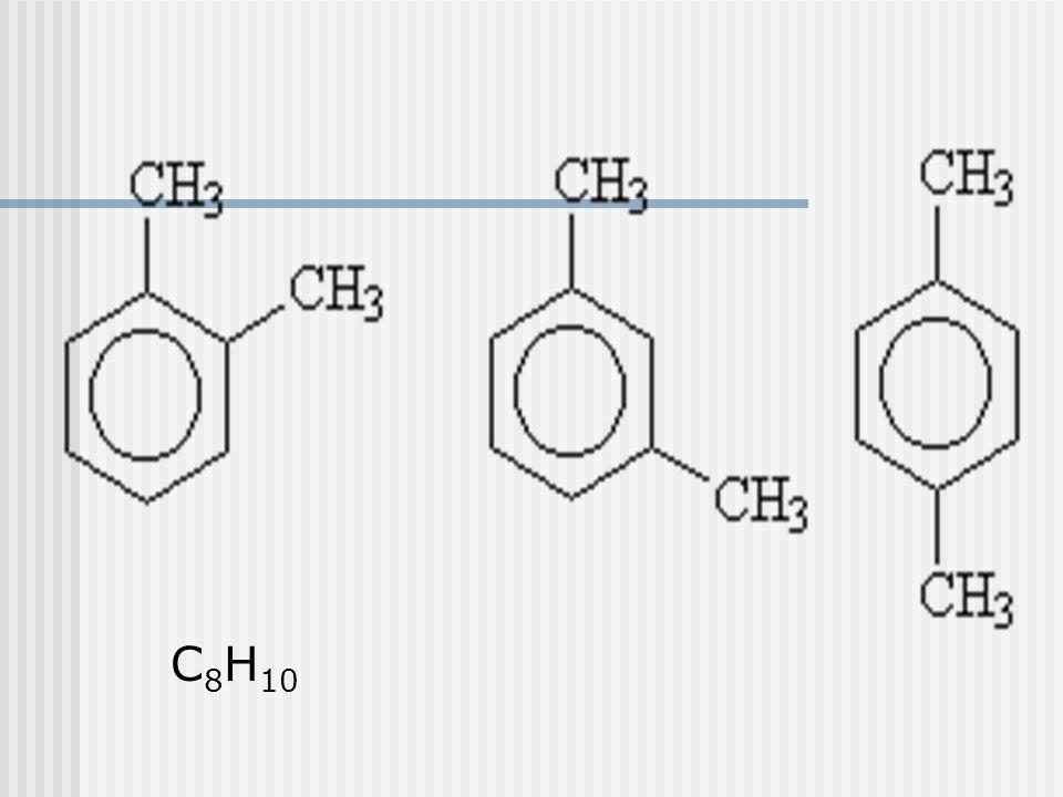Outros radicais Vinil Fenil Benzil Prefixos do benzeno di-substituído Orto Meta Para