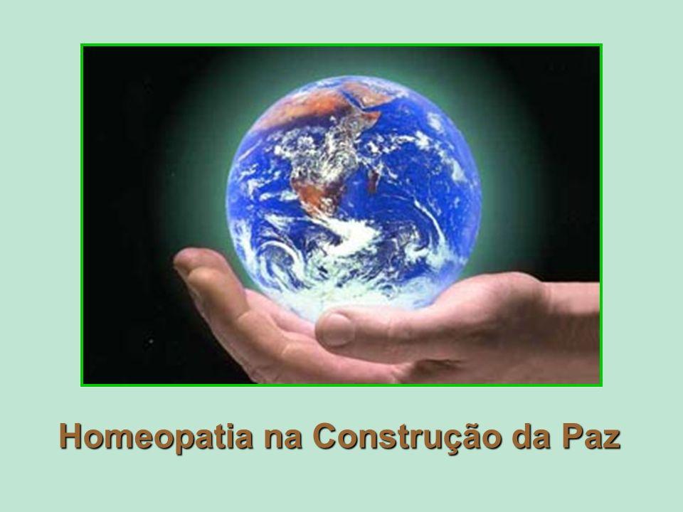 Homeopatia na Construção da Paz