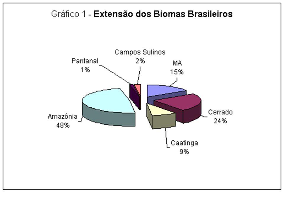 DEGRADAÇÃO * O Cerrado foi ocupado durante décadas para pecuária extensiva.