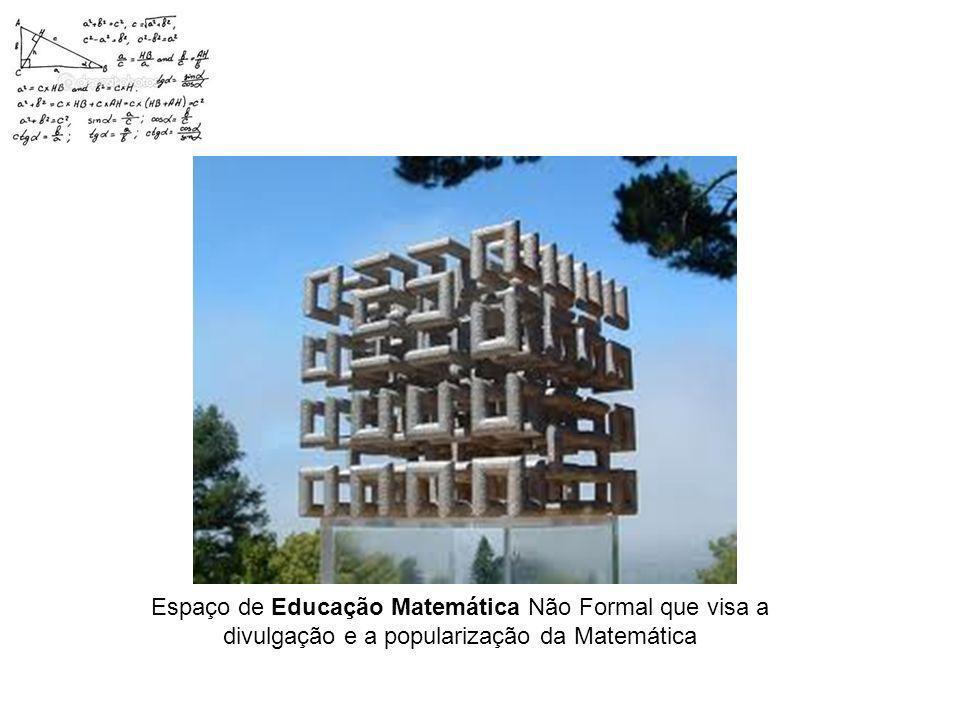 Espaço de Educação Matemática Não Formal que visa a divulgação e a popularização da Matemática