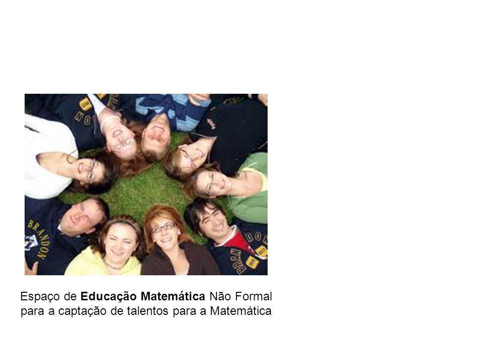 Espaço de Educação Matemática Não Formal para a captação de talentos para a Matemática