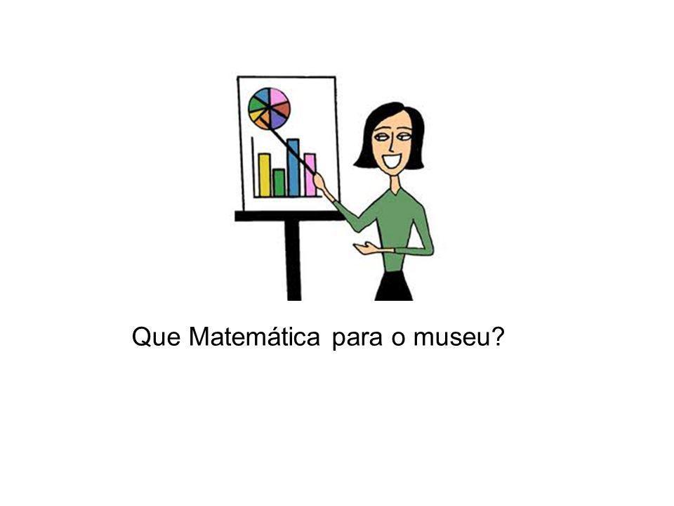 Que Matemática para o museu?