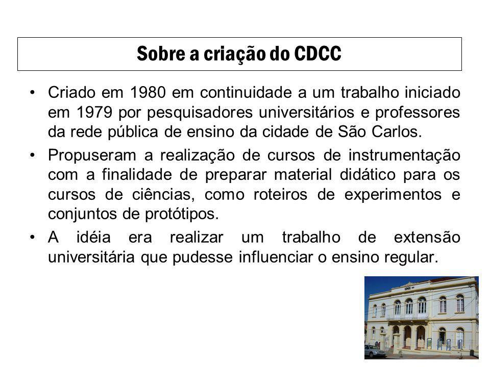 Criado em 1980 em continuidade a um trabalho iniciado em 1979 por pesquisadores universitários e professores da rede pública de ensino da cidade de Sã