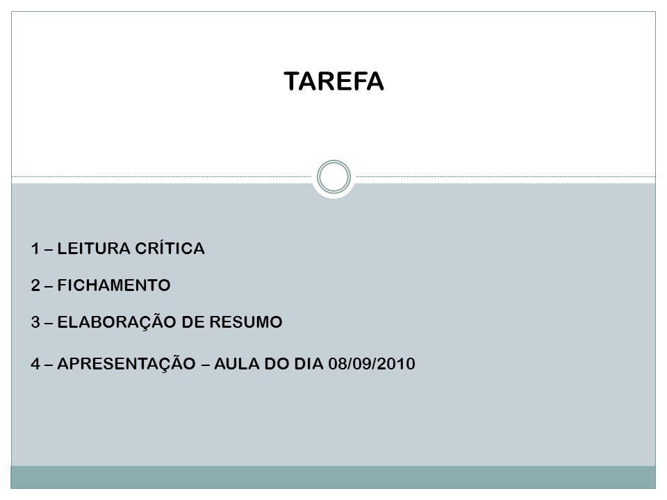 AO TRABALHO!!