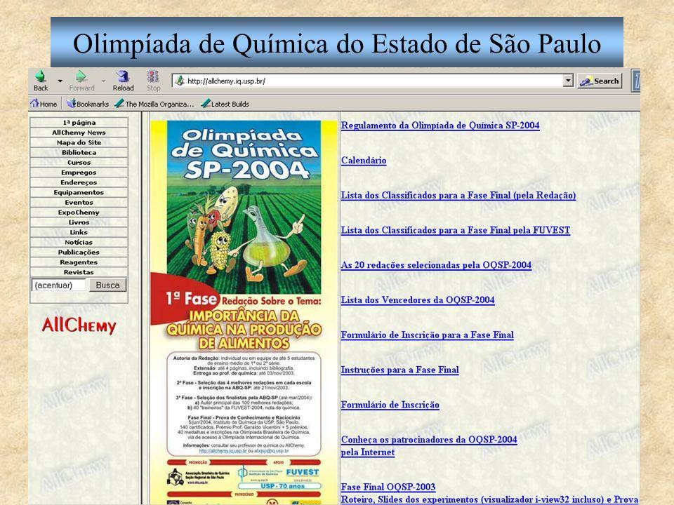 Olimpíada de Química SP-2004