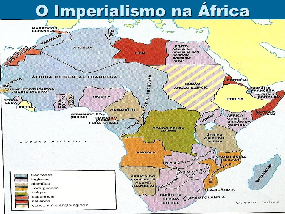 A PAZ ARMADA LIVRO: A COLONIZAÇÃO DA ÁFRICA E DA ÁSIA As raças superiores têm um direito perante as raças inferiores.