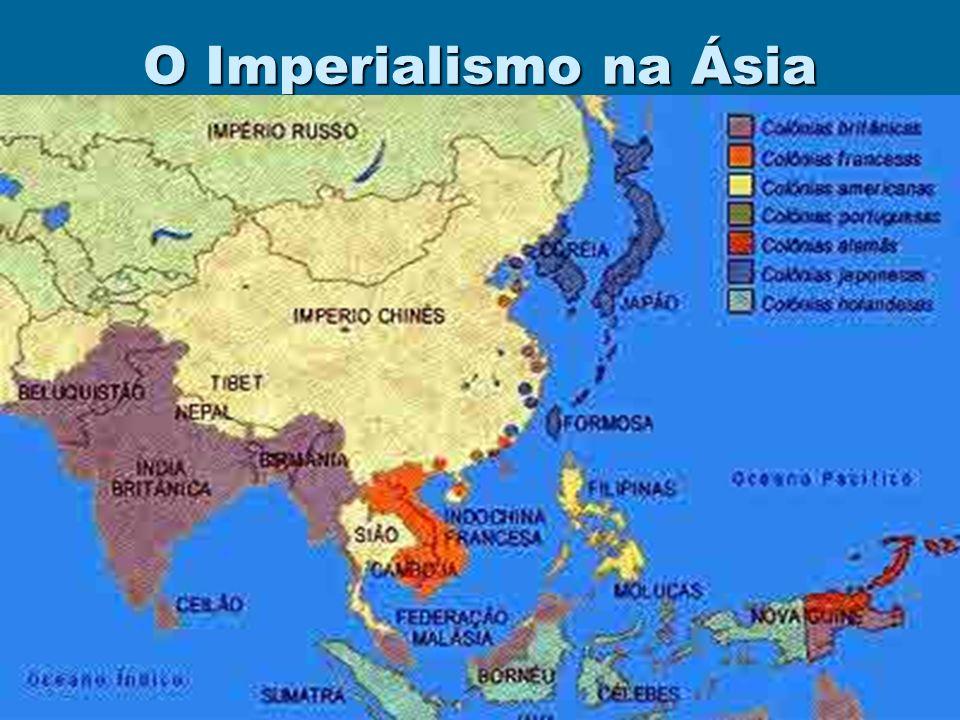 O Imperialismo na Ásia