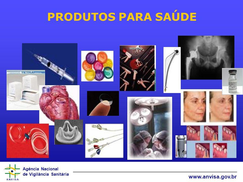 Agência Nacional de Vigilância Sanitária www.anvisa.gov.br PRODUTOS PARA SAÚDE