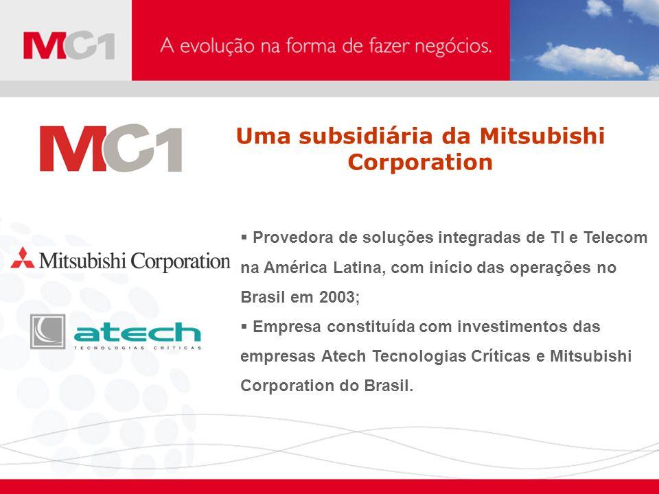 Provedora de soluções integradas de TI e Telecom na América Latina, com início das operações no Brasil em 2003; Empresa constituída com investimentos