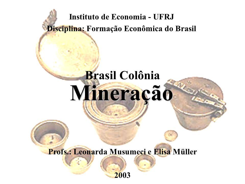 Reservas e produção de diamantes brutos em 2001 Fonte: DNPM