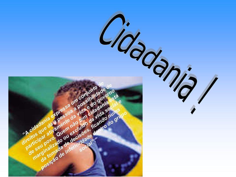 A origem da palavra cidadania vem do latim civitas, que quer dizer cidade.