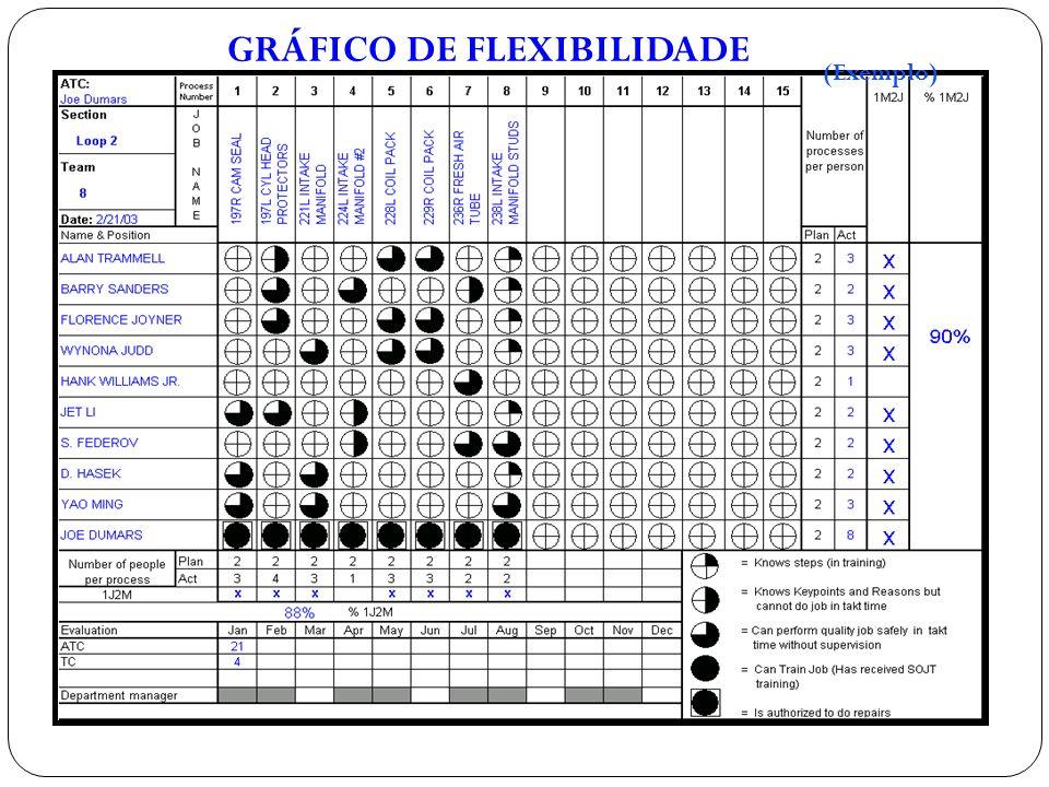 GRÁFICO DE FLEXIBILIDADE (Exemplo)