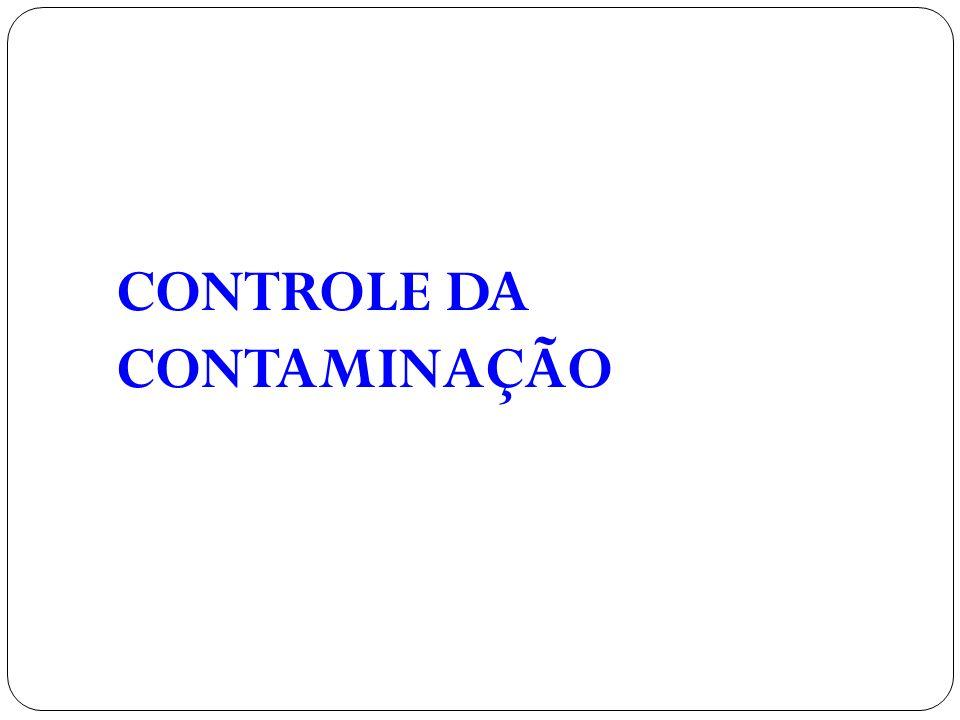 CONTROLE DA CONTAMINAÇÃO